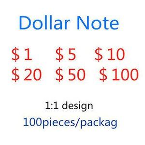 6Simulated banknote explosion of 50 US dollars counterfeit bill party game token toy UPS fast shippingSimulated paper currency 100 US dollar