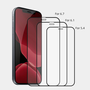 9H Full Glue Screen Protector Tempered Glass For iPhone 12 11 Pro Max Samsung S10 A10 A31 Huawei P40 with paper package