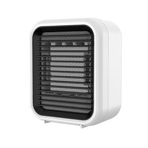 Riscaldatore per ufficio desktop 800W 220V Riscaldatore d'aria coperta PTC Riscaldamento rapido Riscaldamento a mano Riscaldatori a mano Bianco