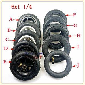 6 인치 6x1 1/4 타이어 솔리드 / 팽창 휠 작은 서핑 전기 스쿠터 150mm 타이어 내부 튜브 적합 오토바이 A-Folding Bike1