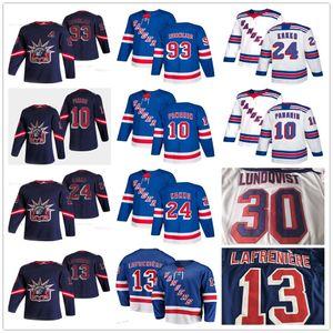 2021 Reverse Alexis Lafrenière New York 레인저 카포 kaapo kaapo kakko artemi panarin henrik lundqvist mika zibanejad blue white hockey jerseys