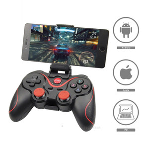 Terios T-3 T3 Android Wireless Bluetooth GamePad Gaming Controller Remoto Control Remoto Joystick BT 3.0 para Android Smartphone Tablet PC TV Box Universal