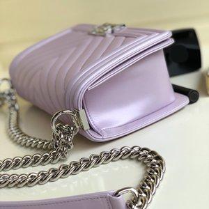 Le nouveau sac à bandoulière 998015 peau de mouton nacrée adopte un tissu de coton importé la nouvelle mode femme sacs style unique atmosphère parfaite