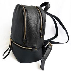 2021 Mode Soft Pu en cuir Grande Femme Sac à dos de haute qualité A + Mesdames Daily Casual Travel Bag Scolaire Scolaire Étudiant