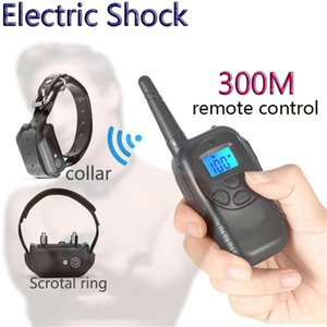 Wireless Remote Control Electric Shock Collar Cock Ring BDSM Bondage Restraint Fetish Adult Games Sex Toys For Couple Men Y201118