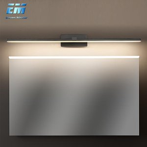 L40cm L50cm 9W 12W LED Wall Lamp Bathroom Aluminum Mirror Light Waterproof Modern Acrylic Bathroom Lights AC110-220V ZJQ0001