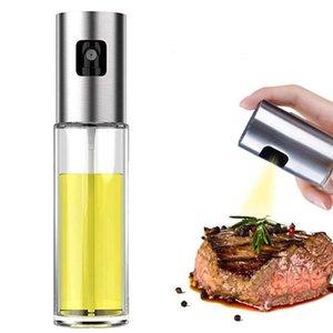 Olive-Öl-Sprayer-Lebensmittelgrade-Glas-Flaschen-Spender für das Kochen, BBQ, Salat, Küchenbacken, Rösten, Braten 100ml OWD3284