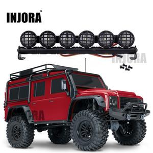 Barra de luz LED multifuncional de 152mm para RC Crawler Traxxas TRX-4 TRX4 D90 Axial SCX10 90046 201104