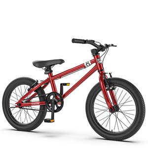 Çocuk Bisiklet 16 inç 4-6-8 Yaşındaki Yüksekliği Ayarlanabilir Karbon Çelik Çerçeve Bisikletleri Çocuklar Için Gençler Yetişkinler Hediyeler
