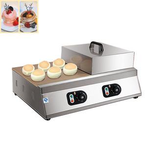 Yüksek Satış Elektrikli Japon Souffle Gözleme Makinesi Suffle Ekmek Makinesi Çift Plaka Dorayaki Krep Suffle Maker
