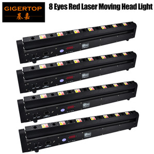Fast Shipping 8 x 800 MW Multicolor LED Bar Beam Moving Head Light For DJ's Sets Venue With Strong Daylight