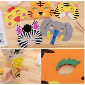 Foam Animal Funny 1PC Assorted Eva Masques Nouveau pour Enfants Anniversaire Faveurs Dress Up Costume Zoo Jungle Party Fournitures