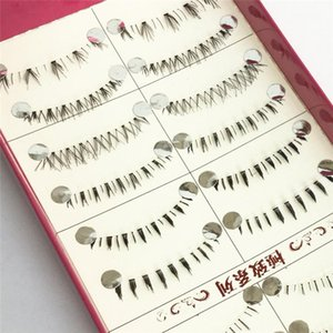 10 Pairs Different Style Black Natural Lower Under Bottom False Fake Eyelashes Eye Lashes Makeup Extensions Tools