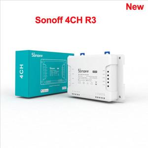 Sonoff 4CH R3 sans fil Smart Accueil Contrôleur WiFi Switch 4 Gang DIY Smart Commutateur Approvisionnement Télécommande Fonctionne pour Alexa / Goole Home