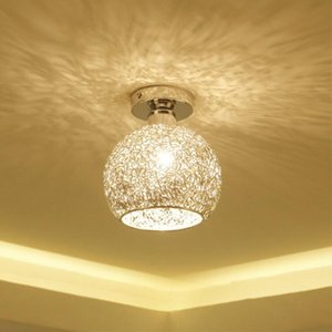 Modern Chandeliers Creative Aluminum Ceiling Light Crystal Chandeliers for Living Room Bedroom Hallway and Closet Lamp