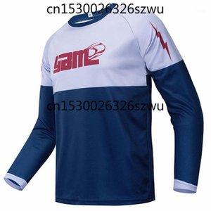 Giacche da corsa YBM Off Road ATV T-shirt Am RF Bicycle ciclismo Bike Downhill Jersey Moto Moto Motocross MTB DH MX Ropa D1
