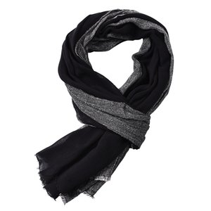 Winter Thermal Scarf for Mens Cotton Plain Fahsion Long 190x80cm Hot Items High Quality Comfortable Wearing Wram Spring and Autumn