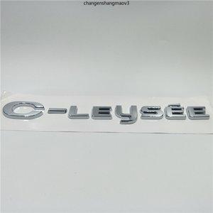 Untuk Citroen C-Elysee Mobil Styling Stiker Emblem Lencana Belakang Logotipo Logo Stiker