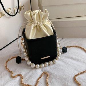 Olsitti Mode Kordelzug Eimer Frauen Geldbörsen Umhängetaschen Box Form Crossbody Taschen für Frauen 2020 Damen Handtaschen Kleine Flap C1223