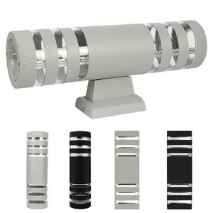 Modern LED Up Down Wall Light Sconce Dual Head Lamp Fixtures Outdoor Indoor