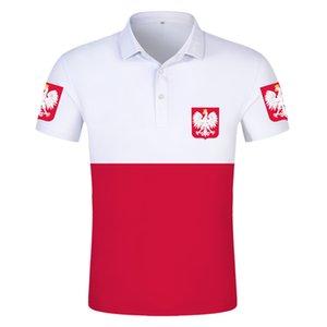 POLAND POLO shirt diy free custom name number pol POLO shirt nation flag pl republic polska polish country college 3D clothes