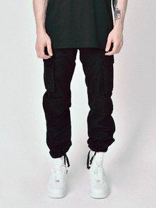 2020new 남자의 한국식 패션 높은 거리 스타일화물 바지 학교 바람 플러스 사이즈 바지 CN (원산지) 23