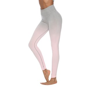 womens leggings Women's Hips and Quick-drying Fitness Pants Running Sports Yoga Pants Elastic Hip Lift Tight-fitting Yoga Clothing Suit