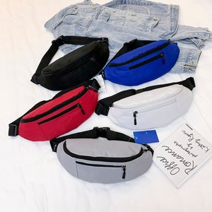 Brand designer belt cross body bag single shoulder cross body zipper four color casual bag2020 Fashion sports small bag