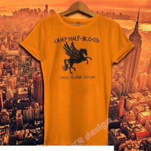 Camp Half Blood T-shirt Percy Jackson Movie Shirt Long Island Sound Greek Demi God Tee Shirt Heroes Of Olympus Shirt Y19051104