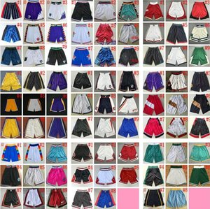 Retro Shorts Cheap Wholesale 2020 New Stitched Shorts Top Quality New City Mens Man Retro Short Size S M L XL XXL