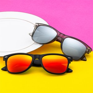 Fashion Simple Sunglasses with Box Polarizing Men's and Women's Sunglasses Outdoor Driving Riding Sports UV400 Hipster Beach Sunglasses