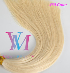 VMAE Wholesale European Blonde Brown Double Drawn 0.5g*100Stand Pre-bonded Virgin Remy Human Straight U-tip Human Hair Extensions