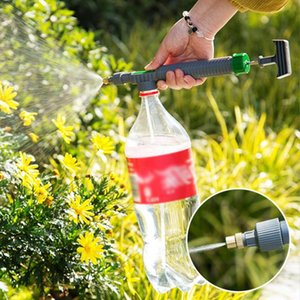 Adjustable High Pressure Air Pump Manual Sprayer Adjustable Drink Bottle Spray Head Nozzle Garden Watering Tool Sprayer