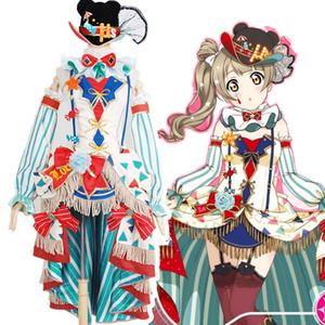 Anime love live circus awakening Kotori Minami cosplay costume dress A