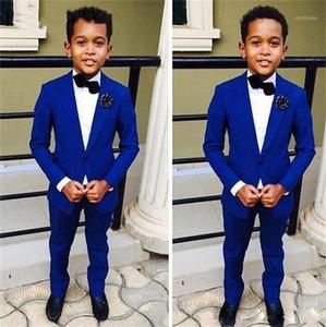 Kid Casual Blazers Suit For Baby Boy Child Coat Fashion Children Jacket Costume For Boy Blue Graduation Suit H0221