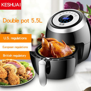Air Fryer Multi-functional Healthy Smokeless Fryer 5.5 L Capacity