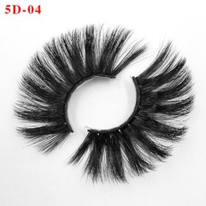 Faux cils 5D eye lashes eyelash 25mm long cross eyelashes thick exaggerated eyelashes 5D mink lash mink lashes lash package lash cases