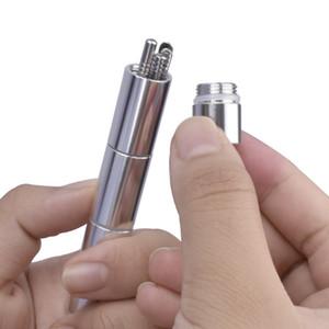 Ear Wax Pickers Cleaner Wax oreille en acier inoxydable Choisissez Remover oreille soins outil Fournitures de nettoyage quotidien 6 PCS Set