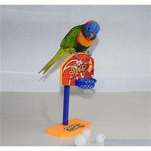 Neue 3 stücke Bälle Pet Vögel Kaugut Spielzeug Sittich Bell Bälle Papagei Spielzeug Birdie Basketball Hoop Requisiten Haustier Papagei Pe Qylcrx New_dhbest
