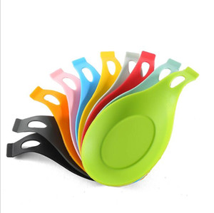 Silicone Rice Spoons Creative Kitchen Tools High Temperature Resistance Soup Ladle Rice Spoon Rices Scoop EWB3506