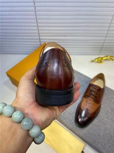 Genuine Leather Formal Derby Shoes Men Pointed Toe Lace Up Elegant Designer Dress Shoes Comfortable Oxfords Footwear US 11