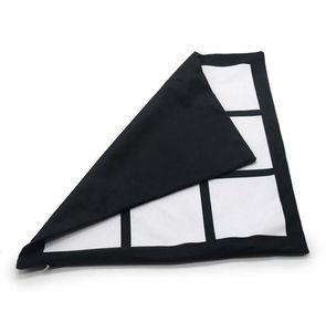 Trasferimento di sublimazione Pillowcase 9 Grid Stampa di calore Cuscino Coperture fai da te Blank Sublimation cuscino cuscino per bambini cuscino GGB3816-1