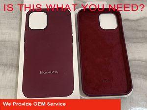 2020 novo caso do iPhone Magsafe Silicone e tampa traseira para IP12 mini pro máximo com pacote