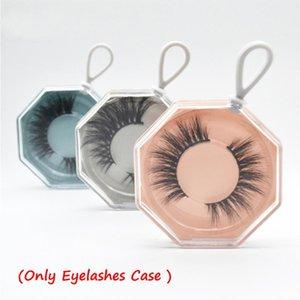 1 5 10Pcs Mini False Eyelashes Box Package Mink Lash Tray Plastic Multicolor New Design Fashion Makeup Tool