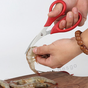 Seafood Tool Lobster Cracker Crab Cracker Lobster Crab Seafood Scissors Stainless Steel Shrimp Crab Shells Shears Kitchen Gadgets DBC