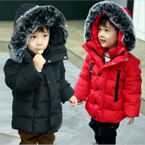 Outfit Children designer coat Toddler girls designer clothing fashion Autumn Winter Outerwear Coat thick warm Snowsuit for Christmas New