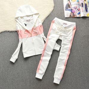 Spring fall Tracksuit Women 2 Piece Cotton Hoodies+pants Sportwear Women's Sports Suit Hooded Sweatshirt Set Female