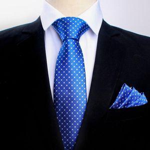 2020 uomini classici Paisley fiore Legami Pocket Set di asciugamani per 8,5 centimetri di affari cravatta poliestere fazzoletto vestito LOGO Custom