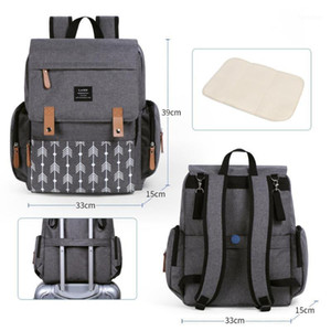 Baby Bags with Stroller Hooks Large Capacity Diaper Bags Waterproof Mummy Dad Bag Maternity Backpack Bag Travel Nursing1