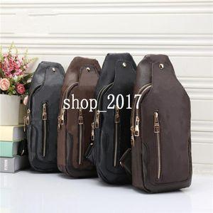 HH Designers de Luxo sacos Marcas Sling Ombro Bag Homens Peito Cross Body Bag Couro Sporty Travel Packs Outdoor Ombro sacos carteira